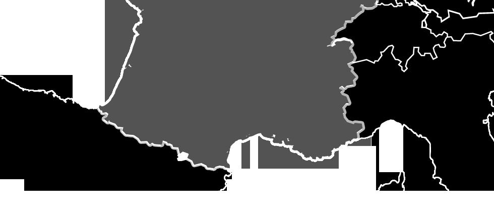 ski/country/francie mapa