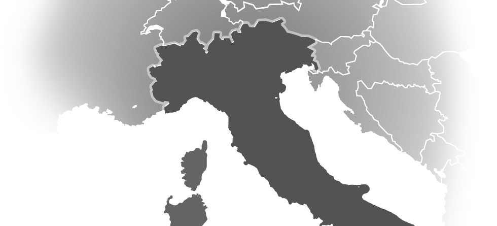 ski/country/italie mapa
