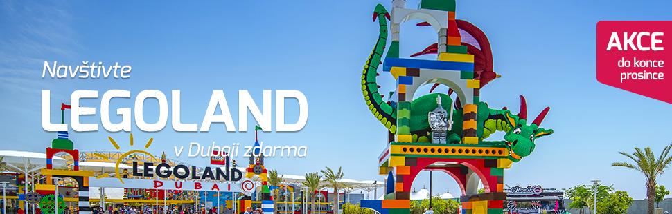 Legoland v Dubaji zdarma!
