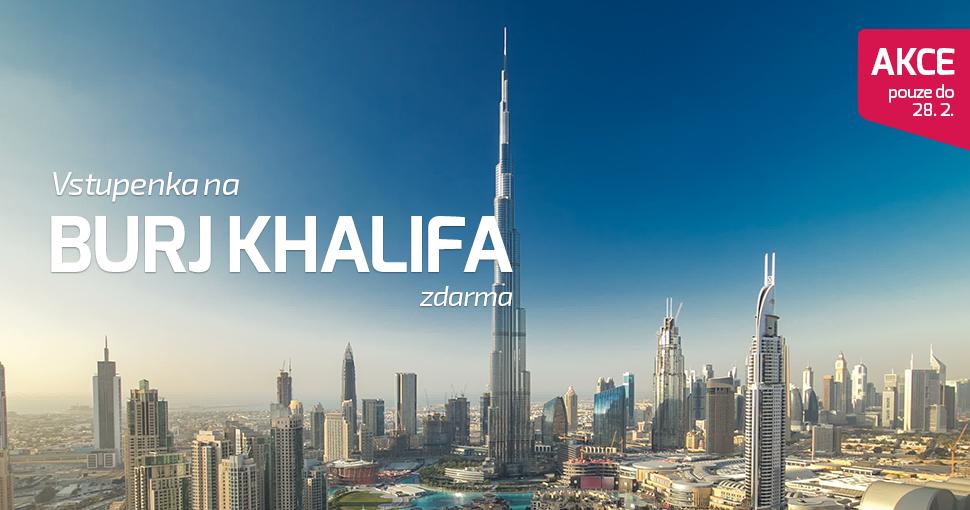 Vstupenka Burj Khalifa zdarma