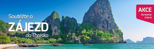 Soutěž o zájezd do Thajska zdarma