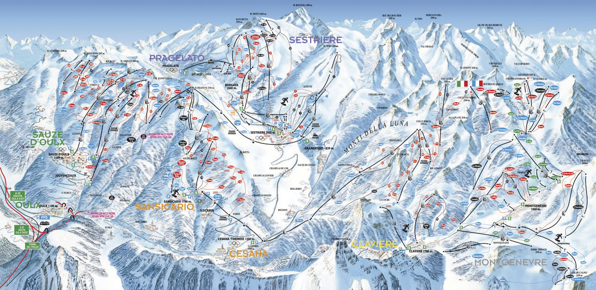 via-lattea-sestriere - map